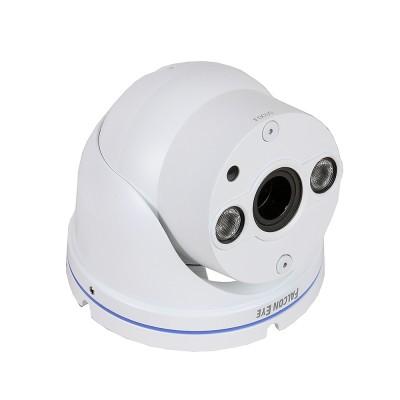 IP камера FE-IPC-DL200PV Falcon eyeIP камеры<br>Описание:<br>Купольная уличная   2-мегапиксельная сетевая <br>видеокамера   FE-DL200PV выполнена на матрице 1/2,8 SONY CMOS с <br>разрешением 2,43 мегапикселя. На камере установлен 3-мегапиксельный   <br>объектив с переменным фокусным расстоянием 2.8-12мм. Камера выполнена в <br>  металлическом корпусе и способна   выдавать видео поток с разрешением<br> 1920х1080Р. Камера оснащена диодной подсветкой, обеспечивающей <br>дальность освещения до 30 метров. Винты фокусировки объектива   удобно <br>расположены на корпусе камеры. Возможность работать по Poe   и <br>аналоговый видеовыход являются   дополнительным бонусом в такой <br>ценовой категории.<br>Характеристики:<br><br>   <br><br><br>Сенсор<br>1/2.8 SONY 2.43 Мпикс CMOS<br><br><br>Чувствительность<br>0Lux/F1.4 Ик вкл.<br><br><br>Скорость затвора<br>Авто/Ручная?1/25~1/10000?<br><br><br>День/Ночь<br>Авто/Ч/Б/Цвет/Внешняя подсветка<br><br><br>Функции<br>DWDR, Mirror, 3D NR,   настройки изображения<br><br><br>Дистанция IR подссветки<br>до 20-30м (2xIR? IR)<br><br><br>Объектив<br>2.8-12mm (3Mпикс   ICR)<br><br><br>Видео   кодек<br>H.264<br><br><br>Кодирование<br>Два потока,Основной поток   1920X1080*25 к/с<br><br><br>Разрешение<br>1920X1080 пикс<br><br><br>Видео   битрейт<br>16Kbps-8000Kbps<br><br><br>Поддержка мобильных платформ<br>IOS, Android<br><br><br>Сетевые   протоколы<br>UDP,HTTP,DHCP,RTP/RTSP,DNS,DDNS,NTP,PPPOE,UPNP,SMTP<br><br><br>Протоколы<br>I8?ONVIF<br><br><br>Сетевой   интерфейс<br>RJ45 10M/100M<br><br><br>Аналоговый   видеовыход<br>BNC<br><br><br>Рабочая   среда<br>-45°C ~ 55°C / 0?-90?<br><br><br>Защита<br>IP66<br><br><br>Питание<br>DC12V / POE<br><br><br>Потр.   Мощность, W<br>lt;10<br><br><br>Размеры,   мм<br>92.85*95.5*262.82<br><br><br>Вес, кг<br>0,82<br>