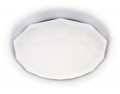 Люстра потолочная Ambrella FF18 WH белый 72W 500*500*75 (ПДУ ИК) ORBITAL