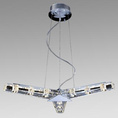 Светильник Flamelli FL4205-9PПодвесные<br>Светильник полностью в собранном состоянии. Лампы галогеновые накаливания размещаются в хрустальном массиве светильника. Общий вес светильника составляет 8,2кг<br><br>Тип цоколя: G4<br>Цвет арматуры: хром, хрусталь<br>Количество ламп: 9<br>Ширина, мм: 140<br>Диаметр, мм мм: 72<br>Высота, мм: 1200<br>MAX мощность ламп, Вт: 20