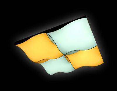 Светильник Ambrella FP2354 WH 128W D480*480 ORBITAL (ПДУ УЛЬТРА)потолочные светильники с пультом<br>Потолочный светильник FP2354 WH 128W D480*480 изготовлен российской фабрикой Ambrella. Лучше всего подойдет для размещения в следующих местах: гостиная, кафе, офис. Дизайн модели рассчитан на использование в интерьерах стиля модерн. Возможная площадь освещения составляет 26 кв. м, если использовать лампочки общей мощностью в 128 Вт. Количество ламп и тип цоколя – LED. Из дополнительных фишек – наличие пульта управления, регулировка яркости и цветовой температуры. Заказывайте потолочный светодиодный светильник с пультом FP2354 WH 128W D480*480 в Люстрон по лучшей цене и с быстрой доставкой на дом.<br><br>S освещ. до, м2: 26<br>Крепление: планка<br>Цветовая t, К: 3000K-6400K<br>Тип лампы: Светодиодная<br>Тип цоколя: LED<br>Цвет арматуры: белый<br>Ширина, мм: 480<br>Диаметр, мм мм: 480<br>Длина, мм: 480<br>Высота, мм: 90<br>Поверхность арматуры: глянцевая<br>Оттенок (цвет): б<br>MAX мощность ламп, Вт: 90W+60W
