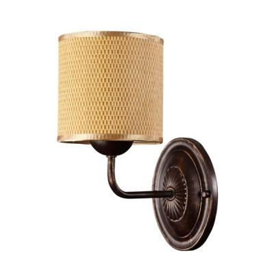 Светильник настенный бра Freya FR100-01-R TimoneМодерн<br><br><br>Тип цоколя: E14<br>Количество ламп: 1<br>MAX мощность ламп, Вт: 40<br>Глубина, мм: 205<br>Высота, мм: 260<br>Цвет арматуры: Коричневый