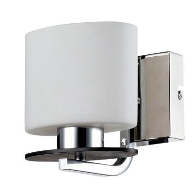 Светильник настенный бра Freya FR101-01-N BiceСовременные<br><br><br>Тип цоколя: E14<br>Цвет арматуры: серебристый хром<br>Количество ламп: 1<br>Глубина, мм: 140<br>Высота, мм: 160<br>MAX мощность ламп, Вт: 40