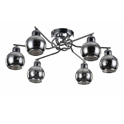 Потолочный светильник Freya FR102-06-N CosmoПотолочные<br>Компания «Светодом» предлагает широкий ассортимент люстр от известных производителей. Представленные в нашем каталоге товары выполнены из современных материалов и обладают отличным качеством. Благодаря широкому ассортименту Вы сможете найти у нас люстру под любой интерьер. Мы предлагаем как классические варианты, так и современные модели, отличающиеся лаконичностью и простотой форм. <br>Стильная люстра Freya FR102-06-N станет украшением любого дома. Эта модель от известного производителя не оставит равнодушным ценителей красивых и оригинальных предметов интерьера. Люстра Freya FR102-06-N обеспечит равномерное распределение света по всей комнате. При выборе обратите внимание на характеристики, позволяющие приобрести наиболее подходящую модель. <br>Купить понравившуюся люстру по доступной цене Вы можете в интернет-магазине «Светодом».<br><br>Установка на натяжной потолок: Да<br>S освещ. до, м2: 12<br>Крепление: планка<br>Тип цоколя: E14<br>Цвет арматуры: серебристый хром<br>Количество ламп: 6<br>Диаметр, мм мм: 570<br>Размеры основания, мм: 120<br>Высота, мм: 200<br>MAX мощность ламп, Вт: 40