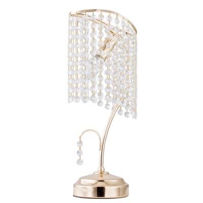 Настольная лампа Freya FR125-00-G PicollaХрустальные<br>Настольная лампа – это не просто источник дополнительного освещения, но и оригинальный элемент декора. Его можно установить в спальне, гостиной, кабинете и других комнатах. Интернет-магазин «Светодом» предлагает настольные лампы разных стилей по доступным ценам. Благодаря большому ассортименту Вы обязательно найдете в нашем каталоге именно ту модель, которую искали.   Настольная лампа Freya FR125-00-G – прекрасный вариант для завершения интерьера. Ее можно включить одновременно с люстрой для более яркого освещения или без нее для создания уютной атмосферы, настраивающей на отдых.   Купить настольную лампу Freya FR125-00-G Вы можете с помощью виртуальной «Корзины» или по контактным номерам, указанным на сайте.<br><br>Тип цоколя: E27<br>Количество ламп: 1<br>MAX мощность ламп, Вт: 60<br>Высота, мм: 410<br>Цвет арматуры: Золотой