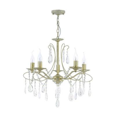 Люстра Freya FR2320-PL-05-WG Antoniaлюстры подвесные классические<br><br><br>Тип лампы: Накаливания / энергосбережения / светодиодная<br>Тип цоколя: E14<br>Цвет арматуры: белый/золотой<br>Количество ламп: 5<br>Диаметр, мм мм: 550<br>Высота, мм: 530<br>Поверхность арматуры: матовая<br>Оттенок (цвет): белый<br>MAX мощность ламп, Вт: 60