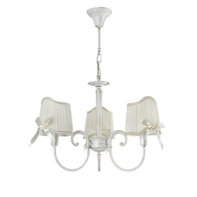 Люстра Freya FR2749-PL-03-WG Kateсовременные подвесные люстры модерн<br><br><br>S освещ. до, м2: 6<br>Тип лампы: Накаливания / энергосбережения / LED - светодиодная<br>Тип цоколя: E14<br>Цвет арматуры: Белый и золотой<br>Количество ламп: 3<br>Диаметр, мм мм: 589<br>Высота полная, мм: 383<br>Длина цепи/провода, мм: 700<br>Высота, мм: 383<br>MAX мощность ламп, Вт: 40