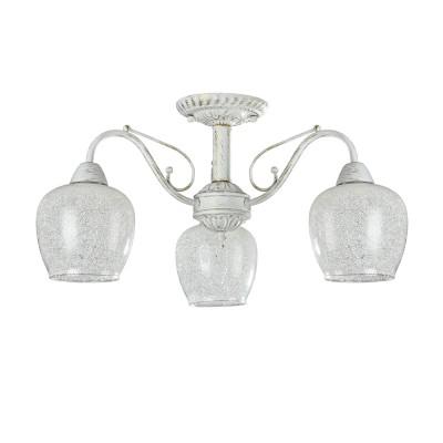 Люстра Freya FR2751-PL-03-WG Andriлюстры потолочные классические<br><br><br>S освещ. до, м2: 9<br>Тип лампы: накаливания / энергосбережения / LED-светодиодная<br>Тип цоколя: E14<br>Цвет арматуры: белый золото<br>Количество ламп: 3<br>Диаметр, мм мм: 523<br>Высота, мм: 283<br>MAX мощность ламп, Вт: 60