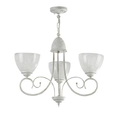 Люстра Freya FR2753-PL-03-WG Annetteсовременные подвесные люстры модерн<br><br><br>S освещ. до, м2: 9<br>Тип лампы: накаливания / энергосбережения / LED-светодиодная<br>Тип цоколя: E14<br>Цвет арматуры: белый золото<br>Количество ламп: 3<br>Диаметр, мм мм: 540<br>Высота, мм: 410<br>MAX мощность ламп, Вт: 60