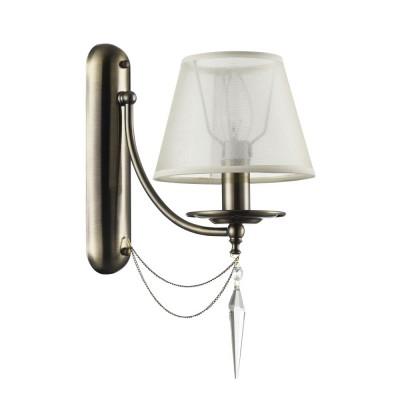 Бра Freya FR2908-WL-01-BZ Garciaсовременные бра модерн<br><br><br>Тип лампы: Накаливания / энергосбережения / светодиодная<br>Тип цоколя: E14<br>Цвет арматуры: бронзовый<br>Количество ламп: 1<br>Ширина, мм: 160<br>Глубина, мм: 265<br>Высота, мм: 345<br>Поверхность арматуры: матовая<br>Оттенок (цвет): бронза<br>MAX мощность ламп, Вт: 40