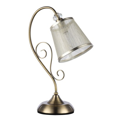 Настольная лампа Freya FR405-00-R DrianaФлористика<br>Настольная лампа – это не просто источник дополнительного освещения, но и оригинальный элемент декора. Его можно установить в спальне, гостиной, кабинете и других комнатах. Интернет-магазин «Светодом» предлагает настольные лампы разных стилей по доступным ценам. Благодаря большому ассортименту Вы обязательно найдете в нашем каталоге именно ту модель, которую искали. <br> Настольная лампа Freya FR405-00-R – прекрасный вариант для завершения интерьера. Ее можно включить одновременно с люстрой для более яркого освещения или без нее для создания уютной атмосферы, настраивающей на отдых. <br> Купить настольную лампу Freya FR405-00-R Вы можете с помощью виртуальной «Корзины» или по контактным номерам, указанным на сайте.<br><br>Цветовая t, К: 2500K<br>Тип цоколя: E14<br>Цвет арматуры: бронзовый античный<br>Количество ламп: 1<br>Глубина, мм: 297<br>Высота, мм: 426<br>MAX мощность ламп, Вт: 40
