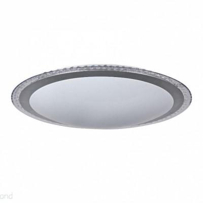 Потолочный светильник Freya FR441-60-W Gloryкруглые светильники<br><br><br>Установка на натяжной потолок: да<br>S освещ. до, м2: 30<br>Крепление: планка<br>Цветовая t, К: 4200<br>Тип лампы: LED<br>Тип цоколя: LED<br>Диаметр, мм мм: 550<br>Высота, мм: 100<br>Оттенок (цвет): белый<br>Общая мощность, Вт: 60