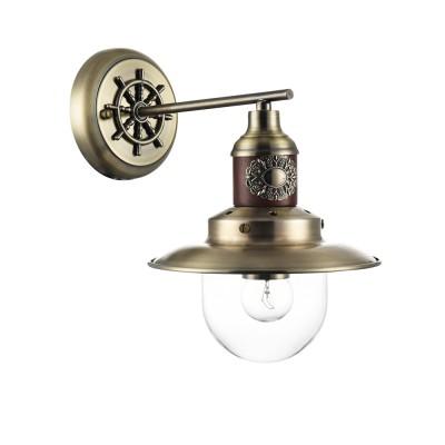 Бра Freya FR4853-WL-01-BZ MarinoМорской стиль<br><br><br>Тип лампы: Накаливания / энергосбережения / светодиодная<br>Тип цоколя: E27<br>Цвет арматуры: бронзовый<br>Ширина, мм: 190<br>Глубина, мм: 270<br>Высота, мм: 290<br>MAX мощность ламп, Вт: 60