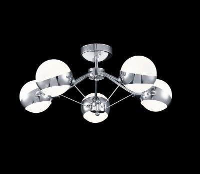 Светильник Freya FR5009CL-05CHлюстры хай тек потолочные<br>Светильник Freya FR5009CL-05CH сделает Ваш интерьер современным, стильным и запоминающимся! Наиболее функционально и эстетически привлекательно модель будет смотреться в гостиной, зале, холле или другой комнате. А в комплекте с настенными бра и торшером из этой же коллекции, сделает интерьер по-дизайнерски профессиональным и законченным.
