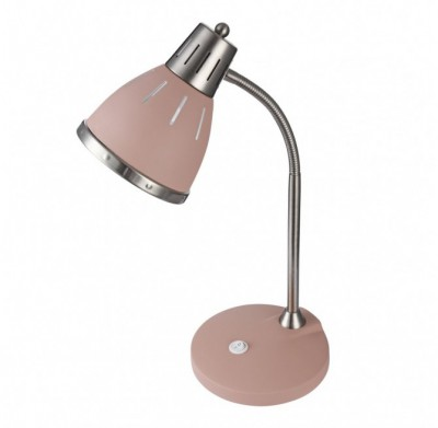 Настольная лампа FR5151-TL-01-PN Nina Freyaнастольные лампы лофт<br>Компания «Светодом» предлагает широкий ассортимент люстр от известных производителей. Представленные в нашем каталоге товары выполнены из современных материалов и обладают отличным качеством. Благодаря широкому ассортименту Вы сможете найти у нас люстру под любой интерьер. Мы предлагаем как классические варианты, так и современные модели, отличающиеся лаконичностью и простотой форм.<br><br>S освещ. до, м2: 2.2<br>Тип лампы: Накаливания / энергосбережения / LED - светодиодная<br>Тип цоколя: E27<br>Цвет арматуры: Розовый<br>Количество ламп: 1<br>Ширина, мм: 170<br>Высота полная, мм: 445<br>Глубина, мм: 260<br>Высота, мм: 445<br>Поверхность арматуры: матовая<br>Оттенок (цвет): Розовый<br>MAX мощность ламп, Вт: 40