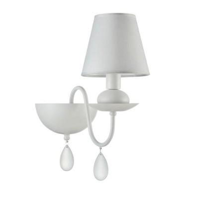 Бра Freya FR5756-WL-01-W Elizaсовременные бра модерн<br><br><br>Тип лампы: Накаливания / энергосбережения / LED - светодиодная<br>Тип цоколя: E14<br>Цвет арматуры: Белый<br>Количество ламп: 1<br>Ширина, мм: 150<br>Высота полная, мм: 355<br>Глубина, мм: 290<br>Высота, мм: 355<br>Поверхность арматуры: матовая<br>Оттенок (цвет): белый<br>MAX мощность ламп, Вт: 40
