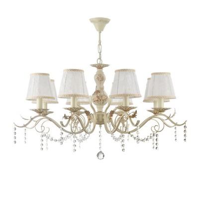 Люстра Freya FR3612-PL-08-BGлюстры подвесные классические<br><br><br>Установка на натяжной потолок: Да<br>S освещ. до, м2: 16<br>Тип лампы: Накаливания / энергосбережения / светодиодная<br>Тип цоколя: E14<br>Цвет арматуры: Кремовый золотой<br>Количество ламп: 8<br>Диаметр, мм мм: 908<br>Высота, мм: 481<br>MAX мощность ламп, Вт: 40