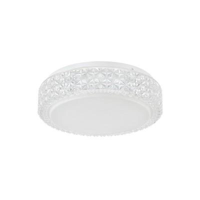 Настенно-потолочный светильник Freya FR6309-CL01-12W-W Aliciaкруглые светильники<br>Настенно-потолочный светильник Freya FR6309-CL01-12W-W Alicia сделает Ваш интерьер современным, стильным и запоминающимся! Наиболее функционально и эстетически привлекательно модель будет смотреться в гостиной, зале, холле или другой комнате. А в комплекте с люстрой и торшером из этой же коллекции, сделает помещение по-дизайнерски профессиональным и законченным.