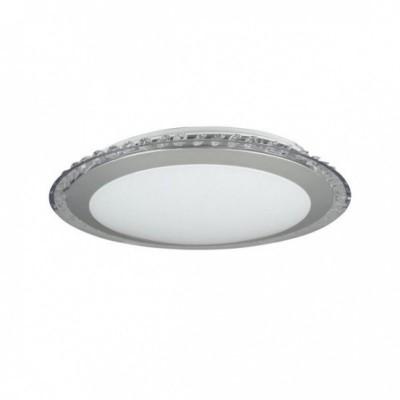 Люстра Freya FR6441-CL-18-W Glory 18Вткруглые светильники<br>Компания «Светодом» предлагает широкий ассортимент люстр от известных производителей. Представленные в нашем каталоге товары выполнены из современных материалов и обладают отличным качеством. Благодаря широкому ассортименту Вы сможете найти у нас люстру под любой интерьер. Мы предлагаем как классические варианты, так и современные модели, отличающиеся лаконичностью и простотой форм.<br><br>Цветовая t, К: 3000<br>Тип лампы: LED - светодиодная<br>Тип цоколя: LED<br>Цвет арматуры: Серый<br>Диаметр, мм мм: 328<br>Высота полная, мм: 74<br>Высота, мм: 74<br>Поверхность арматуры: матовая<br>Оттенок (цвет): серебристый<br>MAX мощность ламп, Вт: 18