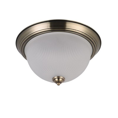 Светильник потолочный Freya FR913-03-R PlanumПотолочные<br><br><br>S освещ. до, м2: 9<br>Крепление: Планка<br>Тип лампы: Накаливания / энергосбережения / светодиодная<br>Тип цоколя: E27<br>Количество ламп: 3<br>MAX мощность ламп, Вт: 60<br>Диаметр, мм мм: 380<br>Высота, мм: 209<br>Цвет арматуры: бронзовый