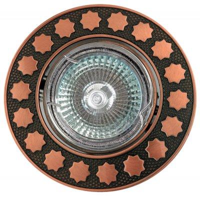 Светильник галогенный FT 115A RAB MR16 50w красн.античное золотоКруглые<br>Встраиваемые светильники – популярное осветительное оборудование, которое можно использовать в качестве основного источника или в дополнение к люстре. Они позволяют создать нужную атмосферу атмосферу и привнести в интерьер уют и комфорт.   Интернет-магазин «Светодом» предлагает стильный встраиваемый светильник Degran FT 115A RAB MR16 50w красн.античное золото. Данная модель достаточно универсальна, поэтому подойдет практически под любой интерьер. Перед покупкой не забудьте ознакомиться с техническими параметрами, чтобы узнать тип цоколя, площадь освещения и другие важные характеристики.   Приобрести встраиваемый светильник Degran FT 115A RAB MR16 50w красн.античное золото в нашем онлайн-магазине Вы можете либо с помощью «Корзины», либо по контактным номерам. Мы развозим заказы по Москве, Екатеринбургу и остальным российским городам.<br><br>S освещ. до, м2: 3<br>Тип лампы: галогенная<br>Тип цоколя: GU5.3 (MR16)<br>Количество ламп: 1<br>MAX мощность ламп, Вт: 50<br>Диаметр, мм мм: 91<br>Диаметр врезного отверстия, мм: 78<br>Цвет арматуры: Золотой