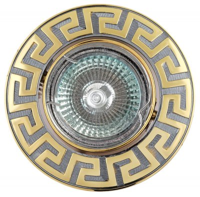 Светильник галогенный FT 116A CHG MR16 50w хром+золотоКруглые<br>Встраиваемые светильники – популярное осветительное оборудование, которое можно использовать в качестве основного источника или в дополнение к люстре. Они позволяют создать нужную атмосферу атмосферу и привнести в интерьер уют и комфорт.   Интернет-магазин «Светодом» предлагает стильный встраиваемый светильник Degran FT 116A CHG MR16 50w хром+золото. Данная модель достаточно универсальна, поэтому подойдет практически под любой интерьер. Перед покупкой не забудьте ознакомиться с техническими параметрами, чтобы узнать тип цоколя, площадь освещения и другие важные характеристики.   Приобрести встраиваемый светильник Degran FT 116A CHG MR16 50w хром+золото в нашем онлайн-магазине Вы можете либо с помощью «Корзины», либо по контактным номерам. Мы развозим заказы по Москве, Екатеринбургу и остальным российским городам.<br><br>S освещ. до, м2: 3<br>Тип лампы: галогенная<br>Тип цоколя: GU5.3 (MR16)<br>Количество ламп: 1<br>MAX мощность ламп, Вт: 50<br>Диаметр, мм мм: 91<br>Диаметр врезного отверстия, мм: 75<br>Цвет арматуры: серебристый