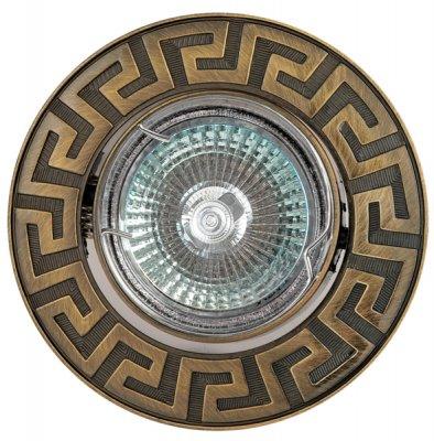 Светильник галогенный FT 116A GAB MR16 50w зел.античное золотоКруглые<br>Встраиваемые светильники – популярное осветительное оборудование, которое можно использовать в качестве основного источника или в дополнение к люстре. Они позволяют создать нужную атмосферу атмосферу и привнести в интерьер уют и комфорт.   Интернет-магазин «Светодом» предлагает стильный встраиваемый светильник Degran FT 116A GAB MR16 50w зел.античное золото. Данная модель достаточно универсальна, поэтому подойдет практически под любой интерьер. Перед покупкой не забудьте ознакомиться с техническими параметрами, чтобы узнать тип цоколя, площадь освещения и другие важные характеристики.   Приобрести встраиваемый светильник Degran FT 116A GAB MR16 50w зел.античное золото в нашем онлайн-магазине Вы можете либо с помощью «Корзины», либо по контактным номерам. Мы развозим заказы по Москве, Екатеринбургу и остальным российским городам.<br><br>S освещ. до, м2: 3<br>Тип лампы: галогенная<br>Тип цоколя: GU5.3 (MR16)<br>Количество ламп: 1<br>MAX мощность ламп, Вт: 50<br>Диаметр, мм мм: 91<br>Диаметр врезного отверстия, мм: 75<br>Цвет арматуры: Золотой