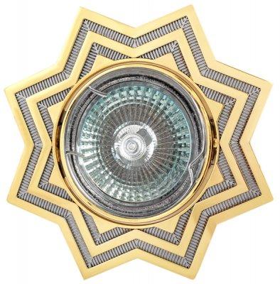 Светильник галогенный FT 118A CHG MR16 50w хром+золотоДекоративные<br>Встраиваемые светильники – популярное осветительное оборудование, которое можно использовать в качестве основного источника или в дополнение к люстре. Они позволяют создать нужную атмосферу атмосферу и привнести в интерьер уют и комфорт.   Интернет-магазин «Светодом» предлагает стильный встраиваемый светильник Degran FT 118A CHG MR16 50w хром+золото. Данная модель достаточно универсальна, поэтому подойдет практически под любой интерьер. Перед покупкой не забудьте ознакомиться с техническими параметрами, чтобы узнать тип цоколя, площадь освещения и другие важные характеристики.   Приобрести встраиваемый светильник Degran FT 118A CHG MR16 50w хром+золото в нашем онлайн-магазине Вы можете либо с помощью «Корзины», либо по контактным номерам. Мы развозим заказы по Москве, Екатеринбургу и остальным российским городам.<br><br>S освещ. до, м2: 3<br>Тип лампы: галогенная<br>Тип цоколя: GU5.3 (MR16)<br>Количество ламп: 1<br>MAX мощность ламп, Вт: 50<br>Диаметр, мм мм: 105<br>Диаметр врезного отверстия, мм: 76<br>Цвет арматуры: серебристый