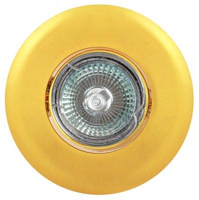 Светильник FT 139AK SG MR16 сатин-золотоКруглые<br>Встраиваемые светильники – популярное осветительное оборудование, которое можно использовать в качестве основного источника или в дополнение к люстре. Они позволяют создать нужную атмосферу атмосферу и привнести в интерьер уют и комфорт.   Интернет-магазин «Светодом» предлагает стильный встраиваемый светильник Degran FT 139AK SG MR16 сатин-золото. Данная модель достаточно универсальна, поэтому подойдет практически под любой интерьер. Перед покупкой не забудьте ознакомиться с техническими параметрами, чтобы узнать тип цоколя, площадь освещения и другие важные характеристики.   Приобрести встраиваемый светильник Degran FT 139AK SG MR16 сатин-золото в нашем онлайн-магазине Вы можете либо с помощью «Корзины», либо по контактным номерам. Мы развозим заказы по Москве, Екатеринбургу и остальным российским городам.<br><br>Тип лампы: галогенная<br>Тип цоколя: GU5.3 (MR16)<br>MAX мощность ламп, Вт: 50<br>Диаметр, мм мм: 105<br>Диаметр врезного отверстия, мм: 75