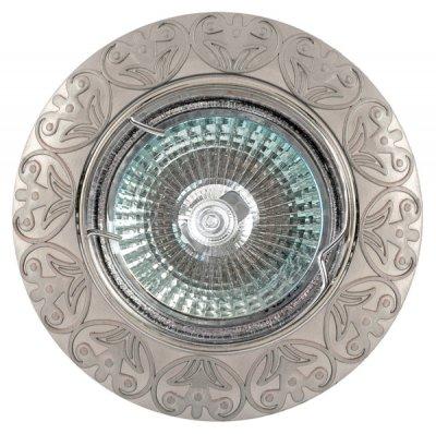 Светильник FT 143AK SN MR16 сатин-никельКруглые<br>Встраиваемые светильники – популярное осветительное оборудование, которое можно использовать в качестве основного источника или в дополнение к люстре. Они позволяют создать нужную атмосферу атмосферу и привнести в интерьер уют и комфорт.   Интернет-магазин «Светодом» предлагает стильный встраиваемый светильник Degran FT 143AK SN MR16 сатин-никель. Данная модель достаточно универсальна, поэтому подойдет практически под любой интерьер. Перед покупкой не забудьте ознакомиться с техническими параметрами, чтобы узнать тип цоколя, площадь освещения и другие важные характеристики.   Приобрести встраиваемый светильник Degran FT 143AK SN MR16 сатин-никель в нашем онлайн-магазине Вы можете либо с помощью «Корзины», либо по контактным номерам. Мы развозим заказы по Москве, Екатеринбургу и остальным российским городам.<br><br>Тип лампы: галогенная<br>Тип цоколя: GU5.3 (MR16)<br>MAX мощность ламп, Вт: 50<br>Диаметр, мм мм: 86<br>Диаметр врезного отверстия, мм: 75