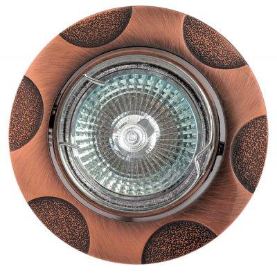 Светильник галогенный FT 156KA RAB MR16 50w красн.античное золотоКруглые<br>Встраиваемые светильники – популярное осветительное оборудование, которое можно использовать в качестве основного источника или в дополнение к люстре. Они позволяют создать нужную атмосферу атмосферу и привнести в интерьер уют и комфорт.   Интернет-магазин «Светодом» предлагает стильный встраиваемый светильник Degran FT 156KA RAB MR16 50w красн.античное золото. Данная модель достаточно универсальна, поэтому подойдет практически под любой интерьер. Перед покупкой не забудьте ознакомиться с техническими параметрами, чтобы узнать тип цоколя, площадь освещения и другие важные характеристики.   Приобрести встраиваемый светильник Degran FT 156KA RAB MR16 50w красн.античное золото в нашем онлайн-магазине Вы можете либо с помощью «Корзины», либо по контактным номерам. Мы развозим заказы по Москве, Екатеринбургу и остальным российским городам.<br><br>S освещ. до, м2: 3<br>Тип лампы: галогенная<br>Тип цоколя: GU5.3 (MR16)<br>Количество ламп: 1<br>MAX мощность ламп, Вт: 50<br>Диаметр, мм мм: 86<br>Диаметр врезного отверстия, мм: 76<br>Цвет арматуры: Золотой