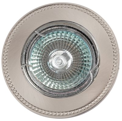 Светильник FT 180 SNCH MR16 сатин-никель+хромКруглые<br>Встраиваемые светильники – популярное осветительное оборудование, которое можно использовать в качестве основного источника или в дополнение к люстре. Они позволяют создать нужную атмосферу атмосферу и привнести в интерьер уют и комфорт.   Интернет-магазин «Светодом» предлагает стильный встраиваемый светильник Degran FT 180 SNCH MR16 сатин-никель+хром. Данная модель достаточно универсальна, поэтому подойдет практически под любой интерьер. Перед покупкой не забудьте ознакомиться с техническими параметрами, чтобы узнать тип цоколя, площадь освещения и другие важные характеристики.   Приобрести встраиваемый светильник Degran FT 180 SNCH MR16 сатин-никель+хром в нашем онлайн-магазине Вы можете либо с помощью «Корзины», либо по контактным номерам. Мы развозим заказы по Москве, Екатеринбургу и остальным российским городам.<br><br>Тип лампы: галогенная<br>Тип цоколя: GU5.3 (MR16)<br>MAX мощность ламп, Вт: 50<br>Диаметр, мм мм: 88<br>Диаметр врезного отверстия, мм: 75