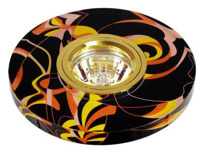 Светильник FT 790 MR16 роспись кругКруглые<br>Встраиваемые светильники – популярное осветительное оборудование, которое можно использовать в качестве основного источника или в дополнение к люстре. Они позволяют создать нужную атмосферу атмосферу и привнести в интерьер уют и комфорт. <br> Интернет-магазин «Светодом» предлагает стильный встраиваемый светильник Degran FT 790 MR16 роспись круг. Данная модель достаточно универсальна, поэтому подойдет практически под любой интерьер. Перед покупкой не забудьте ознакомиться с техническими параметрами, чтобы узнать тип цоколя, площадь освещения и другие важные характеристики. <br> Приобрести встраиваемый светильник Degran FT 790 MR16 роспись круг в нашем онлайн-магазине Вы можете либо с помощью «Корзины», либо по контактным номерам. Мы развозим заказы по Москве, Екатеринбургу и остальным российским городам.<br><br>Тип лампы: галогенная<br>Тип цоколя: GU5.3 (MR16)<br>MAX мощность ламп, Вт: 50<br>Диаметр, мм мм: 125<br>Диаметр врезного отверстия, мм: 55
