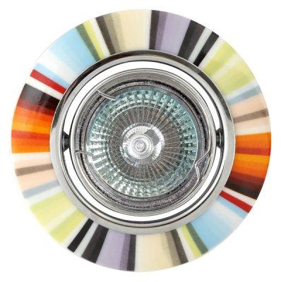 Светильник FT 829 MR16 50W хром радугаКруглые<br><br><br>Тип товара: точечный встраиваемый светильник<br>Тип лампы: галогенная<br>Тип цоколя: GU5.3 (MR16)<br>MAX мощность ламп, Вт: 50<br>Диаметр, мм мм: 95<br>Диаметр врезного отверстия, мм: 70