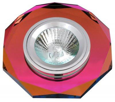 Светильник FT 846 MR16 цветное стеклоКруглые<br>Встраиваемые светильники – популярное осветительное оборудование, которое можно использовать в качестве основного источника или в дополнение к люстре. Они позволяют создать нужную атмосферу атмосферу и привнести в интерьер уют и комфорт.   Интернет-магазин «Светодом» предлагает стильный встраиваемый светильник Degran FT 846 MR16 цветное стекло. Данная модель достаточно универсальна, поэтому подойдет практически под любой интерьер. Перед покупкой не забудьте ознакомиться с техническими параметрами, чтобы узнать тип цоколя, площадь освещения и другие важные характеристики.   Приобрести встраиваемый светильник Degran FT 846 MR16 цветное стекло в нашем онлайн-магазине Вы можете либо с помощью «Корзины», либо по контактным номерам. Мы развозим заказы по Москве, Екатеринбургу и остальным российским городам.<br><br>Тип лампы: галогенная<br>Тип цоколя: GU5.3 (MR16)<br>MAX мощность ламп, Вт: 50<br>Диаметр, мм мм: 110<br>Диаметр врезного отверстия, мм: 65