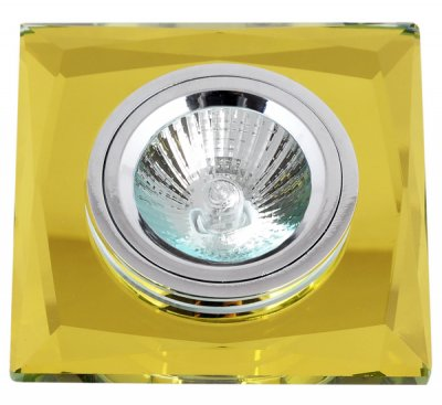 Светильник FT 848-2 MR16 желтое стекло