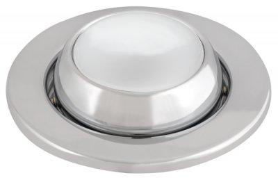 Светильник накаливания FT9212-50 сфера пов., хромC лампой накаливания<br>Встраиваемые светильники – популярное осветительное оборудование, которое можно использовать в качестве основного источника или в дополнение к люстре. Они позволяют создать нужную атмосферу атмосферу и привнести в интерьер уют и комфорт.   Интернет-магазин «Светодом» предлагает стильный встраиваемый светильник Degran FT9212-50 сфера пов., хром. Данная модель достаточно универсальна, поэтому подойдет практически под любой интерьер. Перед покупкой не забудьте ознакомиться с техническими параметрами, чтобы узнать тип цоколя, площадь освещения и другие важные характеристики.   Приобрести встраиваемый светильник Degran FT9212-50 сфера пов., хром в нашем онлайн-магазине Вы можете либо с помощью «Корзины», либо по контактным номерам. Мы доставляем заказы по Москве, Екатеринбургу и остальным российским городам.<br><br>S освещ. до, м2: 4<br>Тип лампы: накал-я - энергосбер-я<br>Тип цоколя: E14<br>Количество ламп: 1<br>MAX мощность ламп, Вт: 60<br>Диаметр, мм мм: 108<br>Диаметр врезного отверстия, мм: 78<br>Цвет арматуры: серебристый