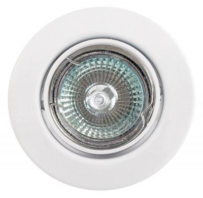 Светильник галогенный FT9222 поворотный в центре, белыйКруглые<br>Встраиваемые светильники – популярное осветительное оборудование, которое можно использовать в качестве основного источника или в дополнение к люстре. Они позволяют создать нужную атмосферу атмосферу и привнести в интерьер уют и комфорт.   Интернет-магазин «Светодом» предлагает стильный встраиваемый светильник Degran FT9222 поворотный в центре, белый. Данная модель достаточно универсальна, поэтому подойдет практически под любой интерьер. Перед покупкой не забудьте ознакомиться с техническими параметрами, чтобы узнать тип цоколя, площадь освещения и другие важные характеристики.   Приобрести встраиваемый светильник Degran FT9222 поворотный в центре, белый в нашем онлайн-магазине Вы можете либо с помощью «Корзины», либо по контактным номерам. Мы развозим заказы по Москве, Екатеринбургу и остальным российским городам.<br><br>S освещ. до, м2: 3<br>Тип лампы: галогенная<br>Тип цоколя: GU5.3 (MR16)<br>Количество ламп: 1<br>MAX мощность ламп, Вт: 50<br>Диаметр, мм мм: 88<br>Диаметр врезного отверстия, мм: 68<br>Цвет арматуры: белый