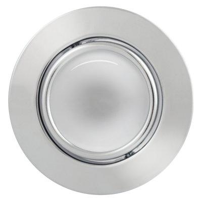 Светильник накаливания FT9230-50 поворотный в центре, хромНакаливания<br>Встраиваемые светильники – популярное осветительное оборудование, которое можно использовать в качестве основного источника или в дополнение к люстре. Они позволяют создать нужную атмосферу атмосферу и привнести в интерьер уют и комфорт.   Интернет-магазин «Светодом» предлагает стильный встраиваемый светильник Degran FT9230-50 поворотный в центре, хром. Данная модель достаточно универсальна, поэтому подойдет практически под любой интерьер. Перед покупкой не забудьте ознакомиться с техническими параметрами, чтобы узнать тип цоколя, площадь освещения и другие важные характеристики.   Приобрести встраиваемый светильник Degran FT9230-50 поворотный в центре, хром в нашем онлайн-магазине Вы можете либо с помощью «Корзины», либо по контактным номерам. Мы развозим заказы по Москве, Екатеринбургу и остальным российским городам.<br><br>S освещ. до, м2: 4<br>Тип лампы: накал-я - энергосбер-я<br>Тип цоколя: E14<br>Количество ламп: 1<br>MAX мощность ламп, Вт: 60<br>Диаметр, мм мм: 100<br>Диаметр врезного отверстия, мм: 82<br>Цвет арматуры: серебристый