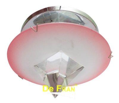 Светильник FT9250 MR16 хром+красныйДекоративные точечные светильники<br>Встраиваемые светильники – популярное осветительное оборудование, которое можно использовать в качестве основного источника или в дополнение к люстре. Они позволяют создать нужную атмосферу атмосферу и привнести в интерьер уют и комфорт.   Интернет-магазин «Светодом» предлагает стильный встраиваемый светильник Degran FT9250 MR16 хром+красный. Данная модель достаточно универсальна, поэтому подойдет практически под любой интерьер. Перед покупкой не забудьте ознакомиться с техническими параметрами, чтобы узнать тип цоколя, площадь освещения и другие важные характеристики.   Приобрести встраиваемый светильник Degran FT9250 MR16 хром+красный в нашем онлайн-магазине Вы можете либо с помощью «Корзины», либо по контактным номерам. Мы развозим заказы по Москве, Екатеринбургу и остальным российским городам.<br><br>Тип лампы: галогенная<br>Тип цоколя: GU5.3 (MR16)<br>Диаметр, мм мм: 85<br>Диаметр врезного отверстия, мм: 65<br>MAX мощность ламп, Вт: 50