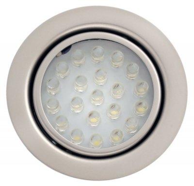 Светильник FT9251 LED-21шт 0.016А 12В 1.3Вт, титан, свет белыйКруглые LED<br>Встраиваемые светильники – популярное осветительное оборудование, которое можно использовать в качестве основного источника или в дополнение к люстре. Они позволяют создать нужную атмосферу атмосферу и привнести в интерьер уют и комфорт.   Интернет-магазин «Светодом» предлагает стильный встраиваемый светильник Degran FT9251 LED-21шт 0.016А 12В 1.3Вт, титан, свет белый. Данная модель достаточно универсальна, поэтому подойдет практически под любой интерьер. Перед покупкой не забудьте ознакомиться с техническими параметрами, чтобы узнать тип цоколя, площадь освещения и другие важные характеристики.   Приобрести встраиваемый светильник Degran FT9251 LED-21шт 0.016А 12В 1.3Вт, титан, свет белый в нашем онлайн-магазине Вы можете либо с помощью «Корзины», либо по контактным номерам. Мы развозим заказы по Москве, Екатеринбургу и остальным российским городам.<br><br>Тип лампы: LED<br>Диаметр, мм мм: 65<br>Диаметр врезного отверстия, мм: 55