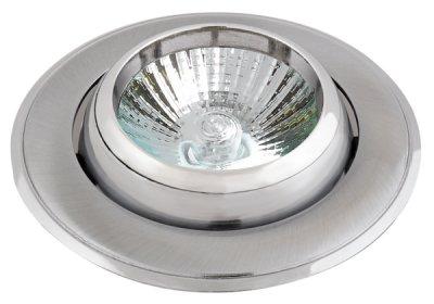 Светильник галогенный FT9298 MR16 50W рыбий глаз,сатин хром+хромКруглые<br>Встраиваемые светильники – популярное осветительное оборудование, которое можно использовать в качестве основного источника или в дополнение к люстре. Они позволяют создать нужную атмосферу атмосферу и привнести в интерьер уют и комфорт.   Интернет-магазин «Светодом» предлагает стильный встраиваемый светильник Degran FT9298 MR16 50W рыбий глаз,сатин хром+хром. Данная модель достаточно универсальна, поэтому подойдет практически под любой интерьер. Перед покупкой не забудьте ознакомиться с техническими параметрами, чтобы узнать тип цоколя, площадь освещения и другие важные характеристики.   Приобрести встраиваемый светильник Degran FT9298 MR16 50W рыбий глаз,сатин хром+хром в нашем онлайн-магазине Вы можете либо с помощью «Корзины», либо по контактным номерам. Мы развозим заказы по Москве, Екатеринбургу и остальным российским городам.<br><br>S освещ. до, м2: 3<br>Тип лампы: галогенная<br>Тип цоколя: GU5.3 (MR16)<br>Количество ламп: 1<br>MAX мощность ламп, Вт: 50<br>Диаметр, мм мм: 96<br>Диаметр врезного отверстия, мм: 84<br>Цвет арматуры: серебристый