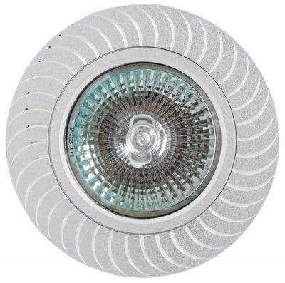 Светильник FT9945 MR16 алюминийКруглые<br>Встраиваемые светильники – популярное осветительное оборудование, которое можно использовать в качестве основного источника или в дополнение к люстре. Они позволяют создать нужную атмосферу атмосферу и привнести в интерьер уют и комфорт.   Интернет-магазин «Светодом» предлагает стильный встраиваемый светильник Degran FT9945 MR16 алюминий. Данная модель достаточно универсальна, поэтому подойдет практически под любой интерьер. Перед покупкой не забудьте ознакомиться с техническими параметрами, чтобы узнать тип цоколя, площадь освещения и другие важные характеристики.   Приобрести встраиваемый светильник Degran FT9945 MR16 алюминий в нашем онлайн-магазине Вы можете либо с помощью «Корзины», либо по контактным номерам. Мы развозим заказы по Москве, Екатеринбургу и остальным российским городам.<br><br>Тип лампы: галогенная<br>Тип цоколя: GU5.3 (MR16)<br>MAX мощность ламп, Вт: 50<br>Диаметр, мм мм: 79<br>Диаметр врезного отверстия, мм: 63