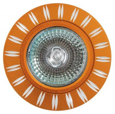 Светильник FT9946 MR16 золотоКруглые<br>Встраиваемые светильники – популярное осветительное оборудование, которое можно использовать в качестве основного источника или в дополнение к люстре. Они позволяют создать нужную атмосферу атмосферу и привнести в интерьер уют и комфорт.   Интернет-магазин «Светодом» предлагает стильный встраиваемый светильник Degran FT9946 MR16 золото. Данная модель достаточно универсальна, поэтому подойдет практически под любой интерьер. Перед покупкой не забудьте ознакомиться с техническими параметрами, чтобы узнать тип цоколя, площадь освещения и другие важные характеристики.   Приобрести встраиваемый светильник Degran FT9946 MR16 золото в нашем онлайн-магазине Вы можете либо с помощью «Корзины», либо по контактным номерам. Мы развозим заказы по Москве, Екатеринбургу и остальным российским городам.<br><br>Тип лампы: галогенная<br>Тип цоколя: GU5.3 (MR16)<br>MAX мощность ламп, Вт: 50<br>Диаметр, мм мм: 79<br>Диаметр врезного отверстия, мм: 63
