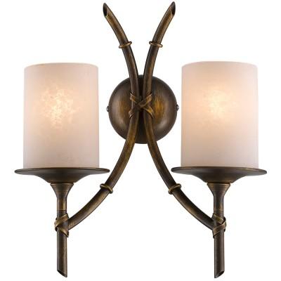 Светильник Favourite 1459-2WВосточный стиль<br><br><br>Тип товара: Светильник настенный бра<br>Скидка, %: 47<br>Цветовая t, К: 2400-2800<br>Тип лампы: накаливания / энергосберегающая / светодиодная<br>Тип цоколя: E14<br>Количество ламп: 2<br>Ширина, мм: 300<br>MAX мощность ламп, Вт: 40<br>Диаметр, мм мм: 140<br>Размеры: W300*D140*H350<br>Высота, мм: 350<br>Поверхность арматуры: матовый, глянцевый<br>Цвет арматуры: коричневый<br>Общая мощность, Вт: 80