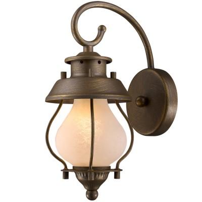 Светильник ретро Favourite 1460-1WМорской стиль<br><br><br>Цветовая t, К: 3000<br>Тип лампы: накаливания / энергосберегающая / светодиодная<br>Тип цоколя: E14<br>Количество ламп: 1<br>Ширина, мм: 120<br>MAX мощность ламп, Вт: 40<br>Размеры: W120*H290*E180<br>Длина, мм: 180<br>Высота, мм: 290<br>Поверхность арматуры: матовый, глянцевый<br>Цвет арматуры: золотой