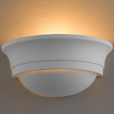 Светильник Favourite 1479-1Wгипсовые настенные светильники под покраску<br><br><br>Цветовая t, К: 3000<br>Тип лампы: накаливания / энергосберегающая / светодиодная<br>Тип цоколя: E14<br>Цвет арматуры: белый<br>Количество ламп: 1<br>Ширина, мм: 270<br>Диаметр, мм мм: 140<br>Размеры: W270*H130*D140<br>Высота, мм: 130<br>MAX мощность ламп, Вт: 40