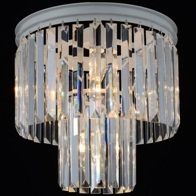 Люстра потолочная Favourite 1490-4UПотолочные<br><br><br>Установка на натяжной потолок: Да<br>S освещ. до, м2: 8<br>Крепление: планка<br>Тип товара: Светильник потолочный<br>Скидка, %: 57<br>Цветовая t, К: 2400-2800<br>Тип лампы: накаливания / энергосберегающая / светодиодная<br>Тип цоколя: E14<br>Количество ламп: 4<br>MAX мощность ламп, Вт: 40<br>Диаметр, мм мм: 350<br>Размеры: D350*H400<br>Высота, мм: 400<br>Поверхность арматуры: матовый<br>Цвет арматуры: белый<br>Общая мощность, Вт: 160