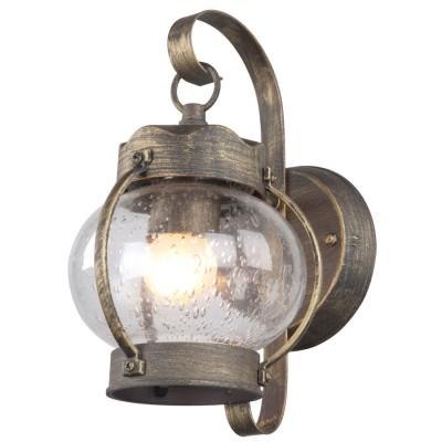 Светильник уличный Favourite 1498-1WНастенные<br>Обеспечение качественного уличного освещения – важная задача для владельцев коттеджей. Компания «Светодом» предлагает современные светильники, которые порадуют Вас отличным исполнением. В нашем каталоге представлена продукция известных производителей, пользующихся популярностью благодаря высокому качеству выпускаемых товаров.   Уличный светильник Favourite 1498-1W не просто обеспечит качественное освещение, но и станет украшением Вашего участка. Модель выполнена из современных материалов и имеет влагозащитный корпус, благодаря которому ей не страшны осадки.   Купить уличный светильник Favourite 1498-1W, представленный в нашем каталоге, можно с помощью онлайн-формы для заказа. Чтобы задать имеющиеся вопросы, звоните нам по указанным телефонам.<br><br>Цветовая t, К: 2700<br>Тип лампы: накаливания / энергосберегающая / светодиодная<br>Тип цоколя: E27<br>Количество ламп: 1<br>Ширина, мм: 140<br>MAX мощность ламп, Вт: 60<br>Выступ, мм: 190<br>Размеры: H260*W140*D190<br>Высота, мм: 260<br>Поверхность арматуры: матовый<br>Цвет арматуры: коричневый
