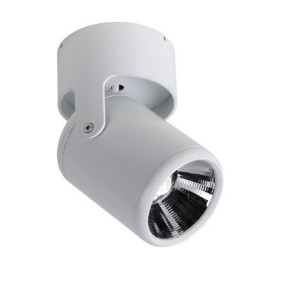Потолочный светильник Favourite 1980-1U ProjectorОжидается<br><br><br>Крепление: Планка<br>Цветовая t, К: 4000<br>Тип цоколя: LED<br>Цвет арматуры: белый<br>Диаметр, мм мм: 90<br>Размеры: D90*H165<br>Высота, мм: 165<br>MAX мощность ламп, Вт: 12