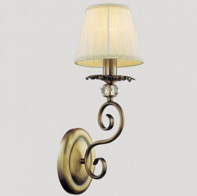 Светильник бра Favourite 1091-1wРустика<br><br><br>S освещ. до, м2: 4<br>Тип товара: Светильник настенный бра<br>Скидка, %: 36<br>Тип лампы: накаливания / энергосбережения / LED-светодиодная<br>Тип цоколя: E14<br>Количество ламп: 1<br>Ширина, мм: 150<br>MAX мощность ламп, Вт: 60<br>Диаметр, мм мм: 290<br>Размеры: W150*D290*H400<br>Расстояние от стены, мм: 290<br>Высота, мм: 400<br>Оттенок (цвет): бежевый<br>Цвет арматуры: бронзовый